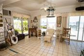 Florida Room on 1st Level - Single Family Home for sale at 2405 Avenue A, Bradenton Beach, FL 34217 - MLS Number is A4433128