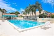 Beautiful community pool - Single Family Home for sale at 4448 Deer Trail Blvd, Sarasota, FL 34238 - MLS Number is A4435495