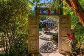 Exotic Gate to Pool - Single Family Home for sale at 7340 Point Of Rocks Rd, Sarasota, FL 34242 - MLS Number is A4461841