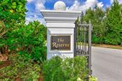 Entrance to The Reserve at Harbour Walk - Vacant Land for sale at 680 Regatta Way, Bradenton, FL 34208 - MLS Number is A4468555