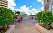 Pool deck - Condo for sale at 1350 Main St #701, Sarasota, FL 34236 - MLS Number is A4472236