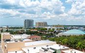 View from the terrace off the dining room - Condo for sale at 1350 Main St #1001, Sarasota, FL 34236 - MLS Number is A4472708