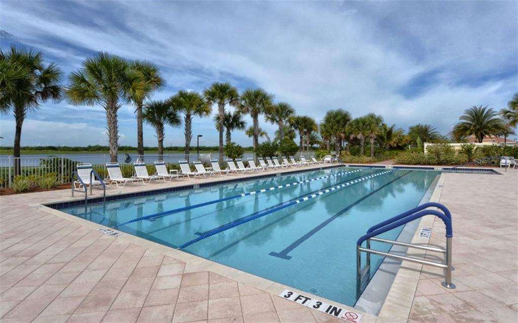 Lap Pool - Single Family Home for sale at 19168 Jalisca St, Venice, FL 34293 - MLS Number is N5912651