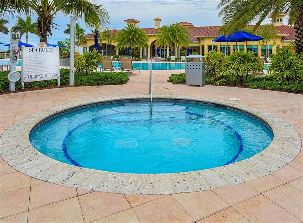Community spa - Single Family Home for sale at 19131 Kirella St, Venice, FL 34293 - MLS Number is N5913074