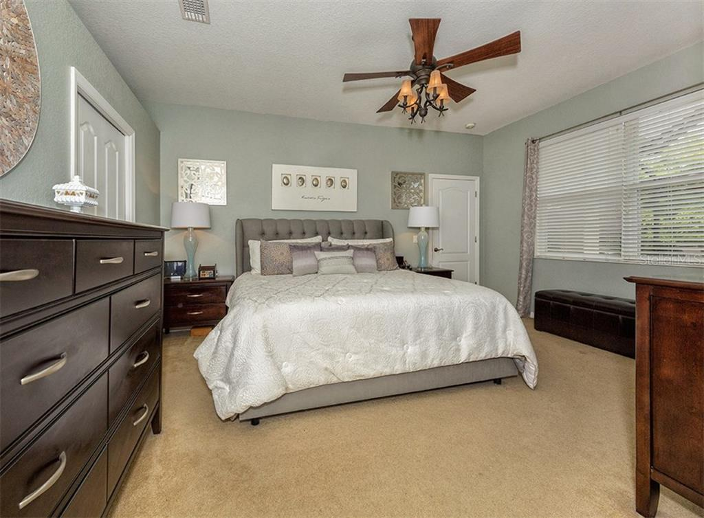 Master bedroom - Single Family Home for sale at 11759 Puma Path, Venice, FL 34292 - MLS Number is N5913611