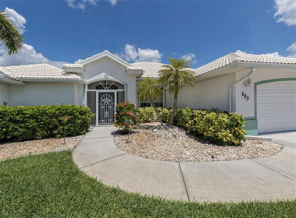 Front entry - Single Family Home for sale at 683 May Apple Way, Venice, FL 34293 - MLS Number is N5913909
