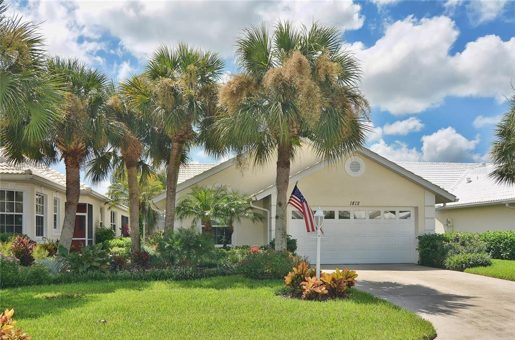 Front - Single Family Home for sale at 1812 Ashley Dr, Venice, FL 34292 - MLS Number is N5914047