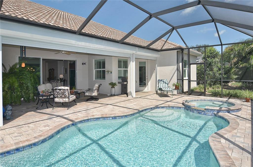 Pool/lanai - Single Family Home for sale at 293 Marsh Creek Rd, Venice, FL 34292 - MLS Number is N5914238