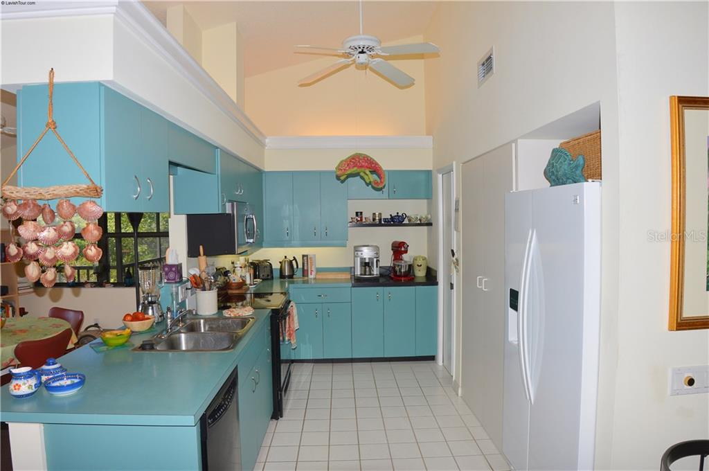 Kitchen - Single Family Home for sale at 1649 Manor Rd, Englewood, FL 34223 - MLS Number is N5914466
