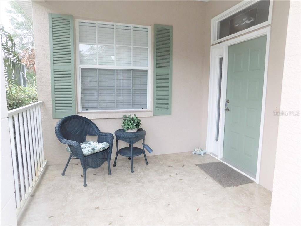 Front Entryway - Villa for sale at 900 Tartan Dr #28, Venice, FL 34293 - MLS Number is N5914495