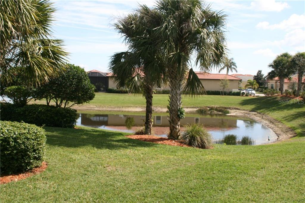 Yard/pond - Single Family Home for sale at 23900 Waverly Cir, Venice, FL 34293 - MLS Number is N5916470