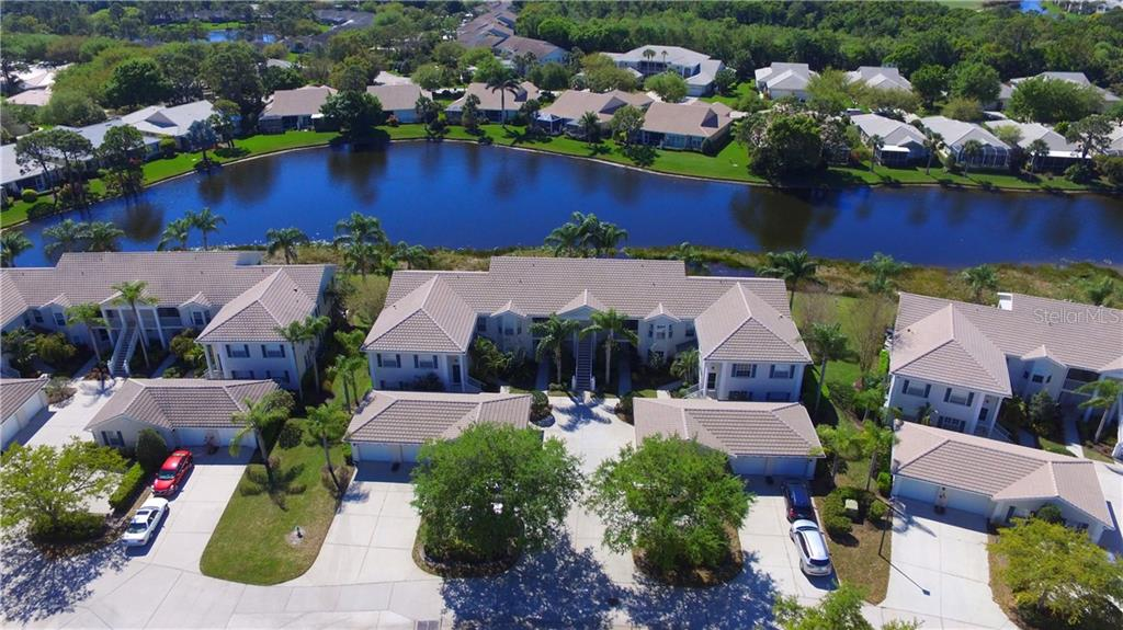 Aerial - Condo for sale at 903 Addington Ct #102, Venice, FL 34293 - MLS Number is N5916962