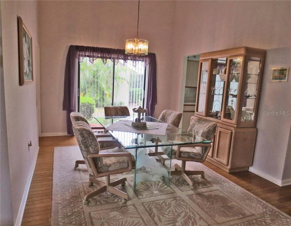 Dining room - Villa for sale at 151 Inlets Blvd #151, Nokomis, FL 34275 - MLS Number is N6100469