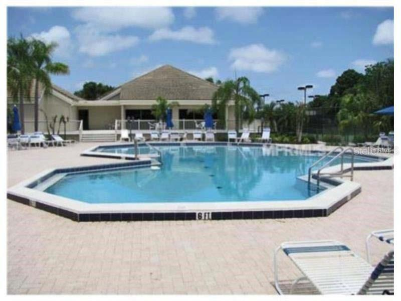 Community pool - Villa for sale at 151 Inlets Blvd #151, Nokomis, FL 34275 - MLS Number is N6100469