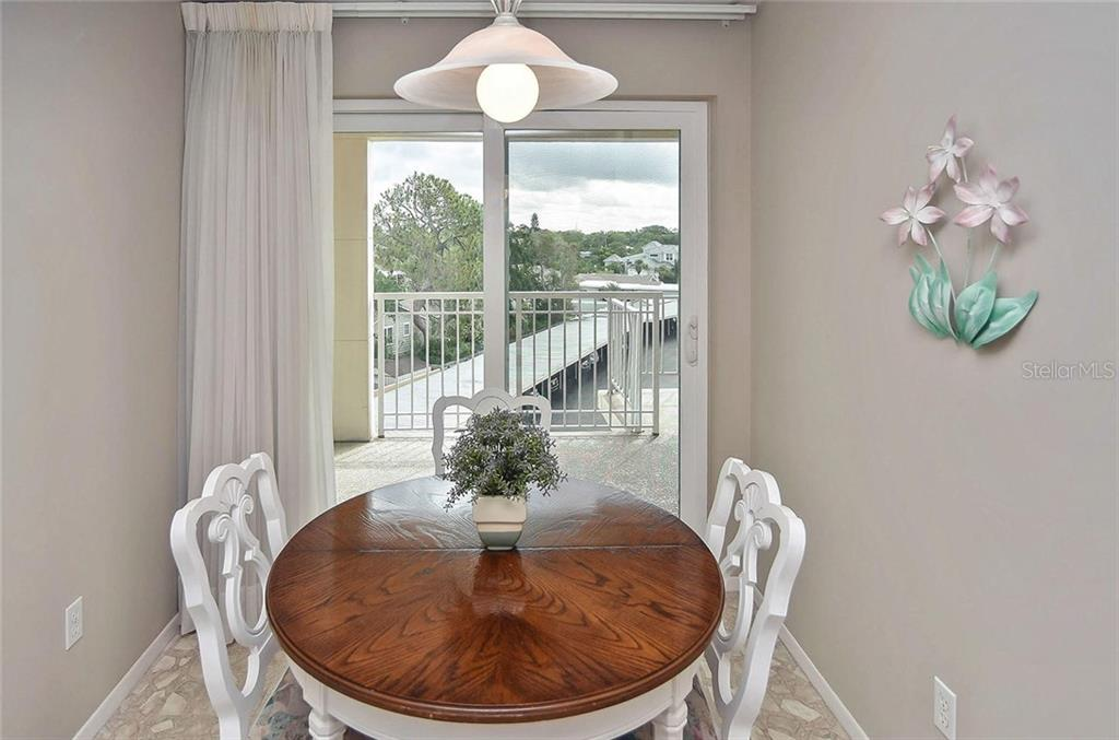 Dinette - Condo for sale at 500 The Esplanade N #402, Venice, FL 34285 - MLS Number is N6100557