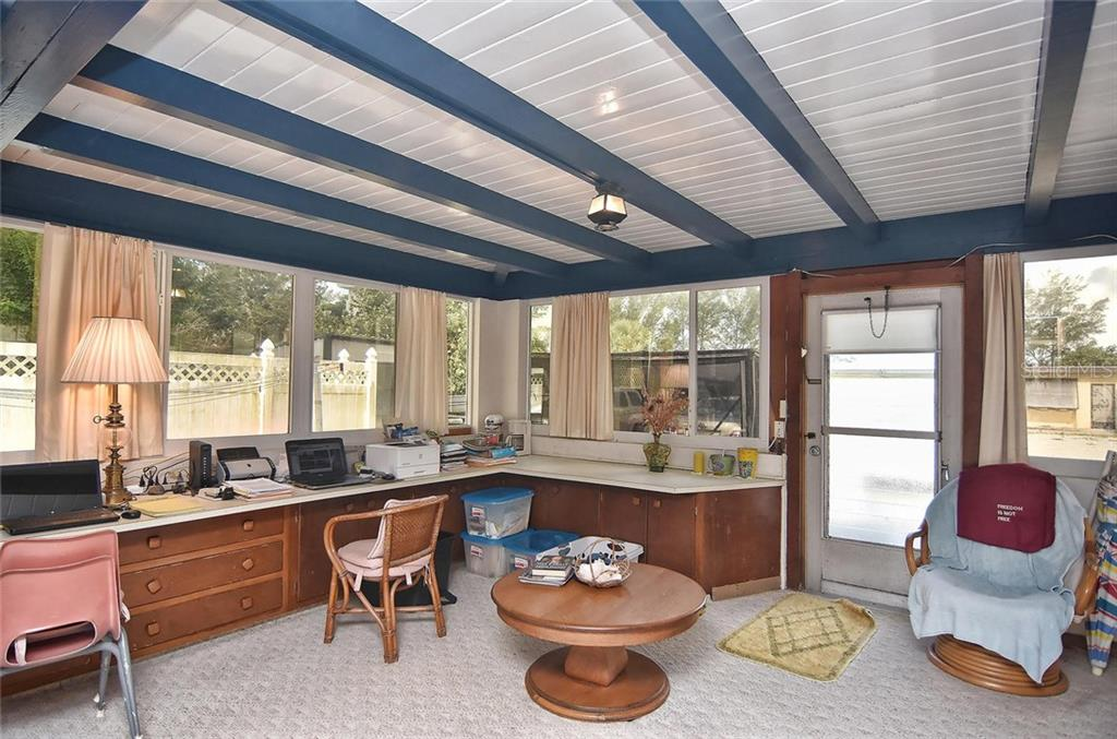 Master bedroom/study - Single Family Home for sale at 616 S Casey Key Rd, Nokomis, FL 34275 - MLS Number is N6100721