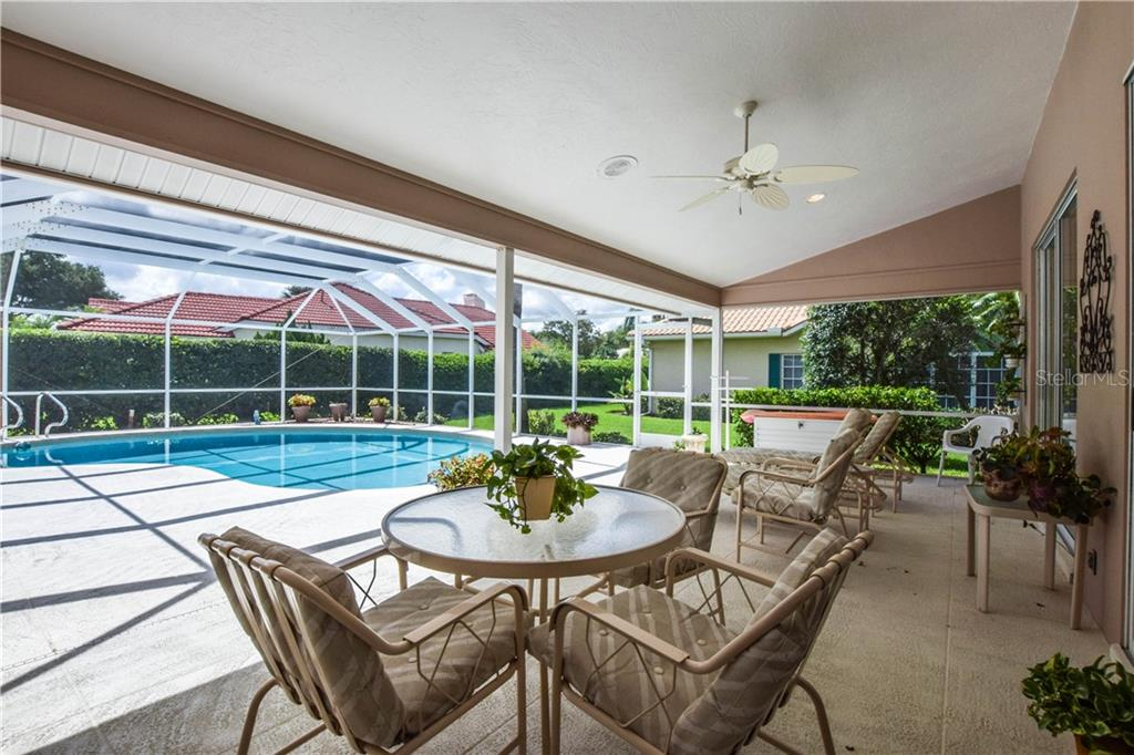 Lanai/Swimming Pool - Single Family Home for sale at 837 Carnoustie Dr, Venice, FL 34293 - MLS Number is N6101166