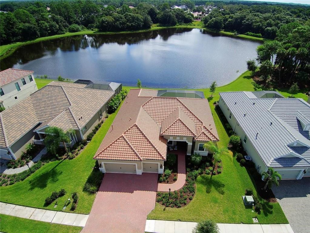 Aerial - Single Family Home for sale at 21220 St Petersburg Dr, Venice, FL 34293 - MLS Number is N6101838