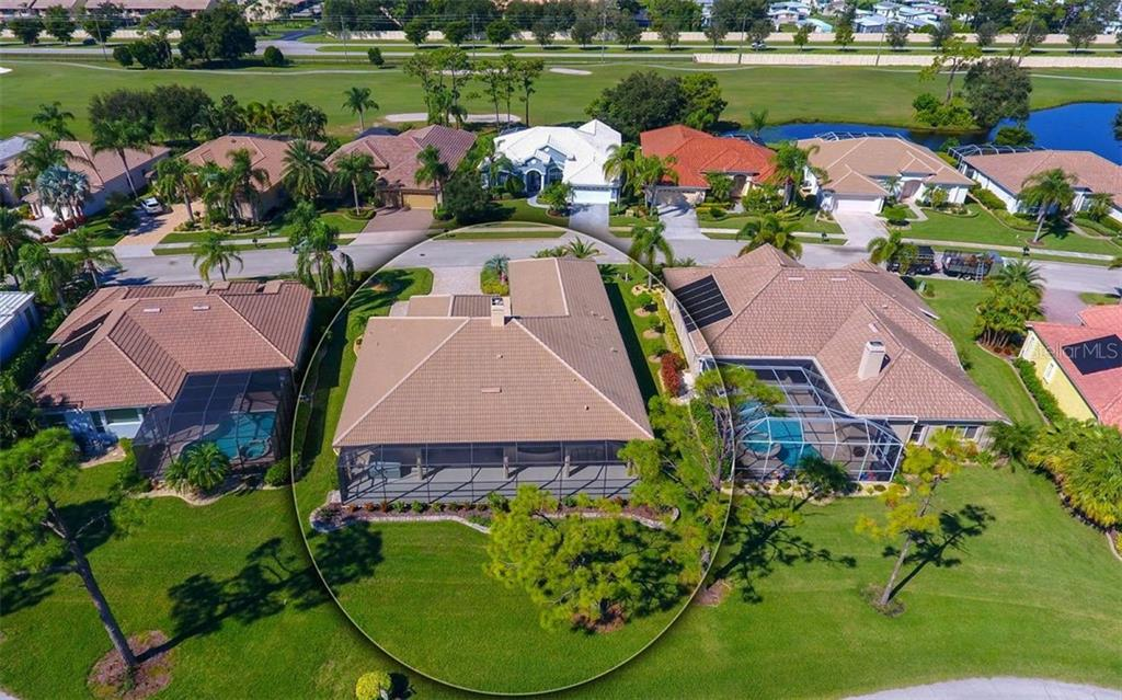 Aerial view to expand - Single Family Home for sale at 979 Chickadee Dr, Venice, FL 34285 - MLS Number is N6102266