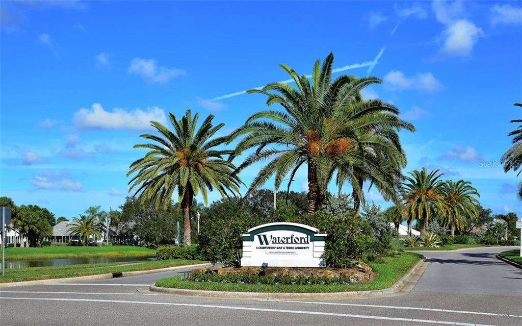 Waterford sign - Single Family Home for sale at 1460 Strada D Argento, Venice, FL 34292 - MLS Number is N6104612