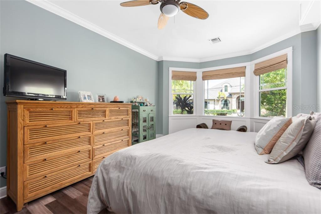 Master Bedroom Has Just been recently painted and new bamboo wood floors. - Single Family Home for sale at 1716 Arlington St, Sarasota, FL 34239 - MLS Number is N6104891