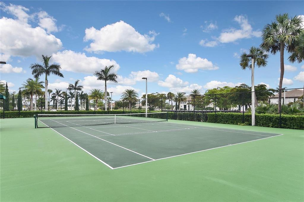 Tennis - Single Family Home for sale at 166 Toscavilla Blvd, Nokomis, FL 34275 - MLS Number is N6105654