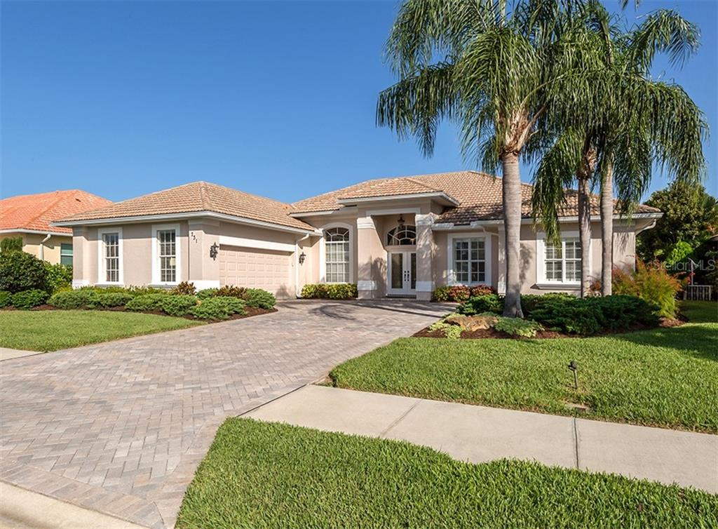 Floor Plan - Single Family Home for sale at 731 Fringed Orchid Trl, Venice, FL 34293 - MLS Number is N6105812