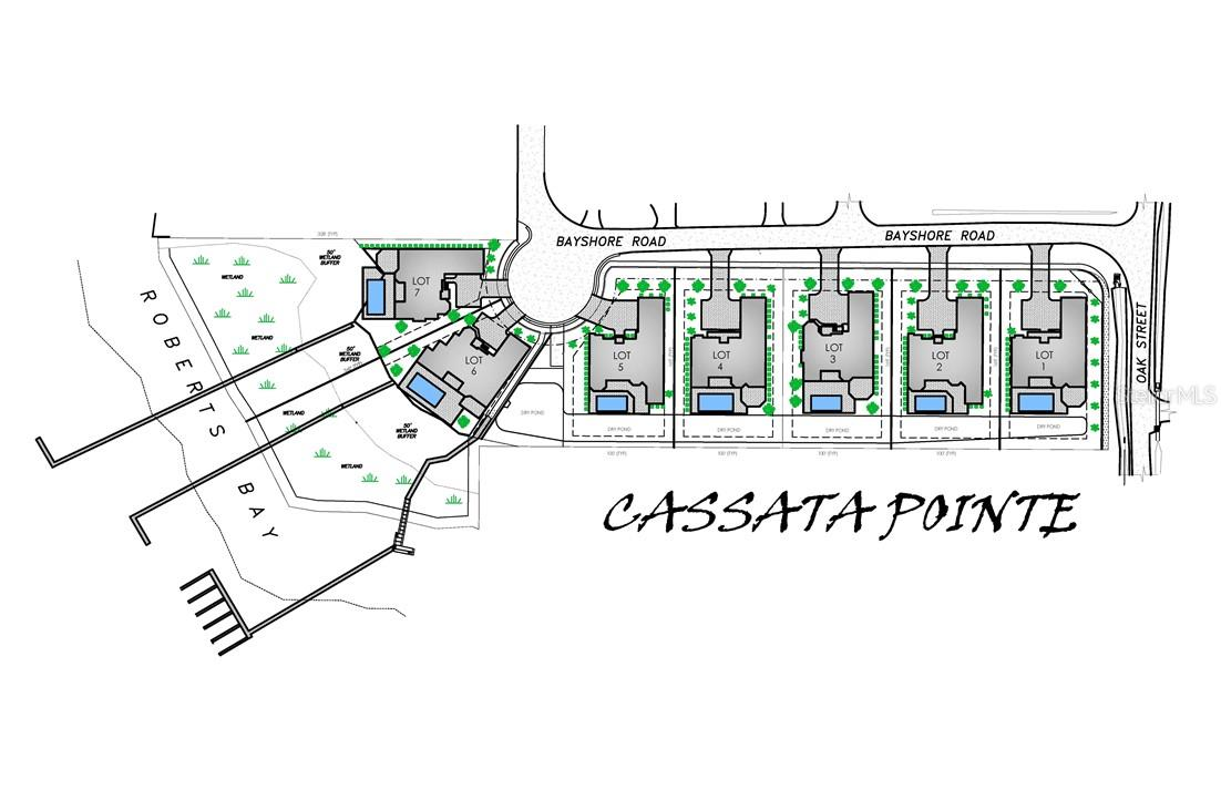 Cassata Pointe Site Plan - Vacant Land for sale at 1461 Bayshore Rd, Nokomis, FL 34275 - MLS Number is N6105979