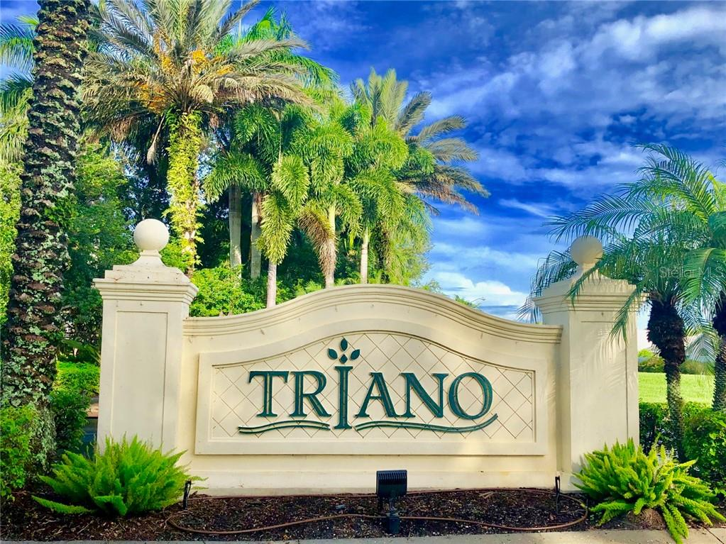 Gated Triano Entrance - Condo for sale at 1910 Triano Cir #1910, Venice, FL 34292 - MLS Number is N6106332