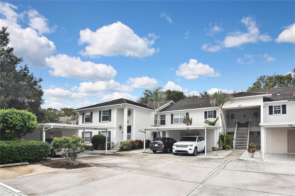 Front entry - Condo for sale at 817 Montrose Dr #201, Venice, FL 34293 - MLS Number is N6107943