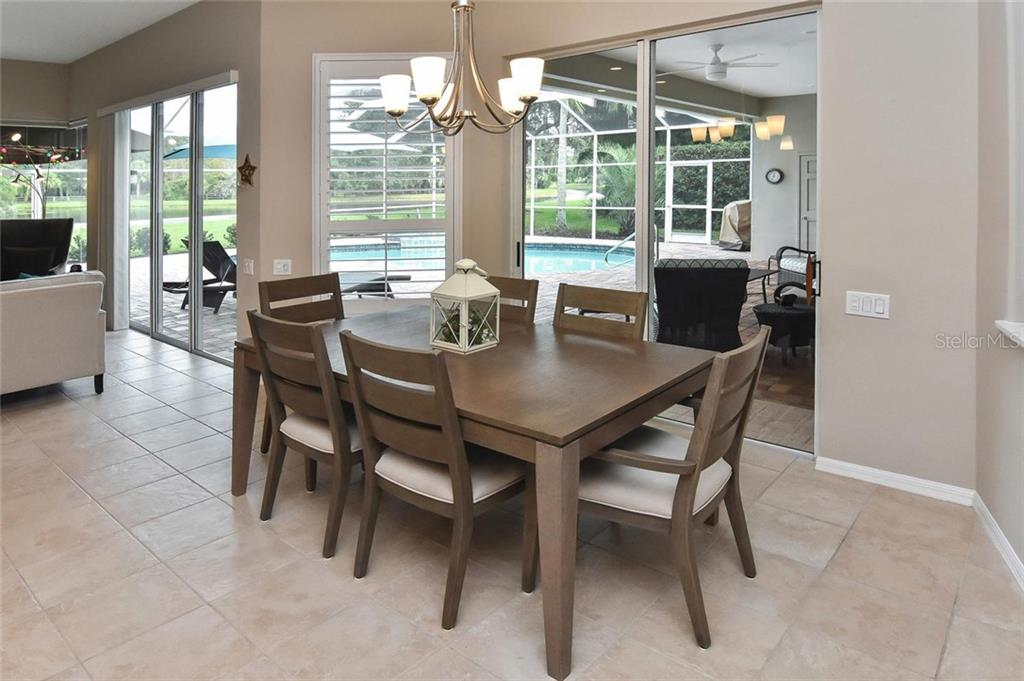 Dining area - Single Family Home for sale at 7185 N Serenoa Dr, Sarasota, FL 34241 - MLS Number is N6109058