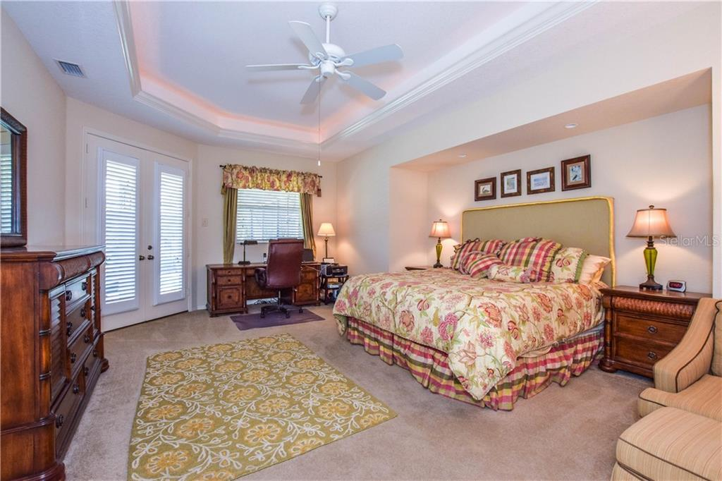 Master bedroom. - Single Family Home for sale at 2560 Pebble Creek Pl, Port Charlotte, FL 33948 - MLS Number is N6109100