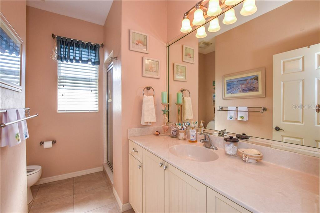Second bathroom. - Single Family Home for sale at 2560 Pebble Creek Pl, Port Charlotte, FL 33948 - MLS Number is N6109100