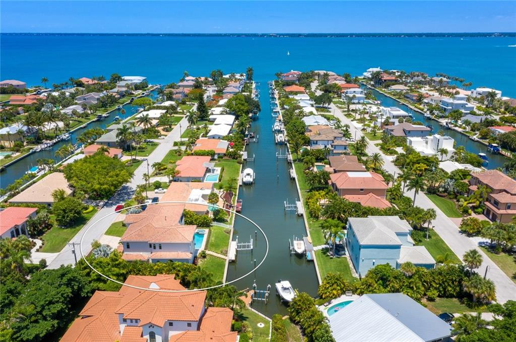 Just a few feet to open water - Single Family Home for sale at 510 Bowsprit Ln, Longboat Key, FL 34228 - MLS Number is N6110334