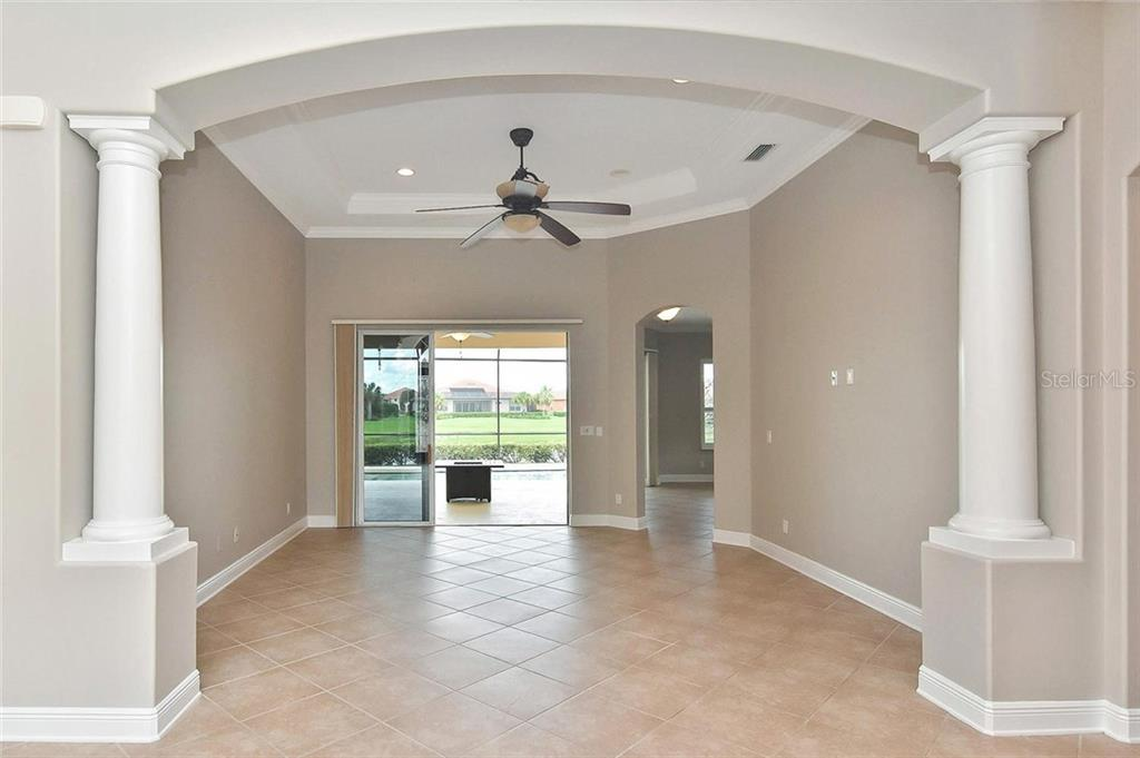 Living room - Single Family Home for sale at 193 Medici Ter, North Venice, FL 34275 - MLS Number is N6110365