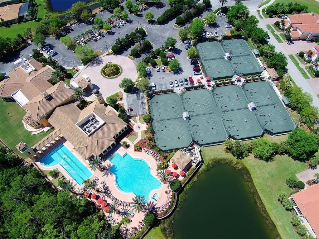 Aerial of amenities - Single Family Home for sale at 193 Medici Ter, North Venice, FL 34275 - MLS Number is N6110365