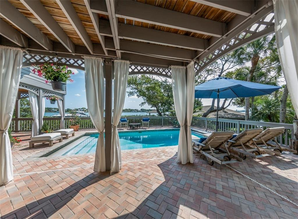 Pool - Single Family Home for sale at 2208 Casey Key Rd, Nokomis, FL 34275 - MLS Number is N6110959