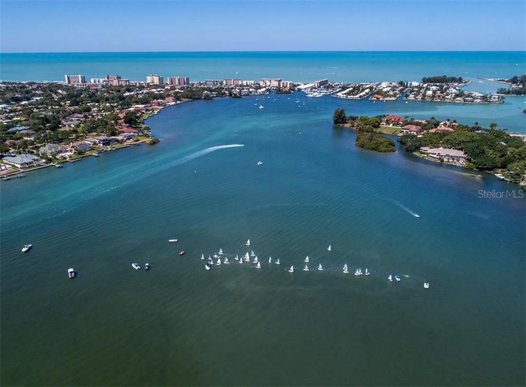 Aerial of Venice Island - Single Family Home for sale at 2208 Casey Key Rd, Nokomis, FL 34275 - MLS Number is N6110959