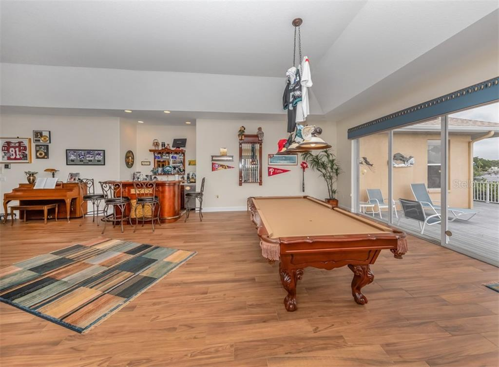 Game room - Single Family Home for sale at 453 Anchorage Dr, Nokomis, FL 34275 - MLS Number is N6112707