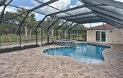 Pool with extended paver patio - Single Family Home for sale at 2505 Northway Dr, Venice, FL 34292 - MLS Number is N5911099