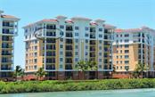 Exterior View from Intracoastal Waterway - Condo for sale at 157 Tampa Ave E #608, Venice, FL 34285 - MLS Number is N5912899