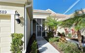 Front Entrance - Villa for sale at 10889 Lerwick Cir, Englewood, FL 34223 - MLS Number is N5916198
