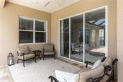 Large covered Lanai - Single Family Home for sale at 368 Marsh Creek Rd, Venice, FL 34292 - MLS Number is N6101204