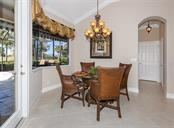 Dinette - Single Family Home for sale at 110 Martellago Dr, North Venice, FL 34275 - MLS Number is N6103159