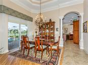 Dining room - Single Family Home for sale at 19799 Cobblestone Cir, Venice, FL 34292 - MLS Number is N6104694