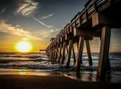 Sunset at Venice Pier - Condo for sale at 1761 Auburn Lakes Dr #22, Venice, FL 34292 - MLS Number is N6106204