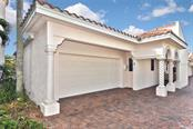Unit 3 garage to front entrance - Condo for sale at 718 Golden Beach Blvd #3, Venice, FL 34285 - MLS Number is N6107011