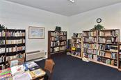 Library - Condo for sale at 3730 Cadbury Cir #614, Venice, FL 34293 - MLS Number is N6107624