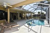 Pool, lanai - Single Family Home for sale at 321 Dulmer Dr, Nokomis, FL 34275 - MLS Number is N6108685