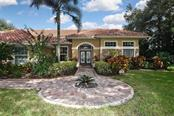 Impressive front walk - Single Family Home for sale at 7185 N Serenoa Dr, Sarasota, FL 34241 - MLS Number is N6109058
